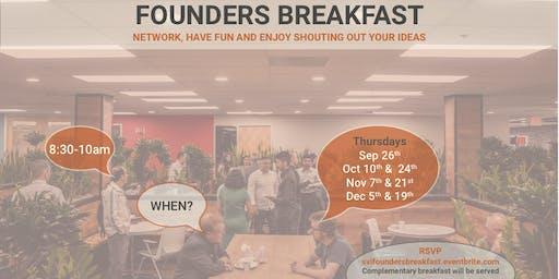 Startup Founders Breakfast Networking