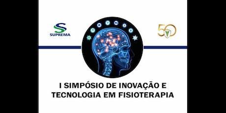 I Simpósio de Inovação  Tecnologia em Fisioterapia ingressos