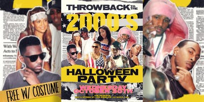 Throwback to the 2000's!  - HIP HOP HALLOWEEN PARTY