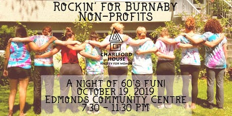 Rockin' for Burnaby Non-Profits tickets