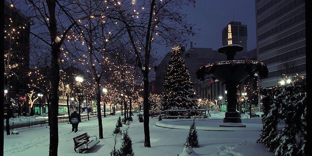 Hamilton Christmas Market.Christmas In The City Market Hamilton Tickets Sat 23 Nov