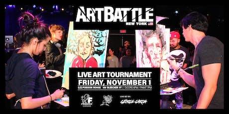 Art Battle New York - November 1, 2019 tickets