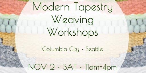 Modern Tapestry Weaving Wall Hanging Workshop