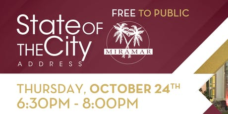 The City of Miramar State of the City Address tickets