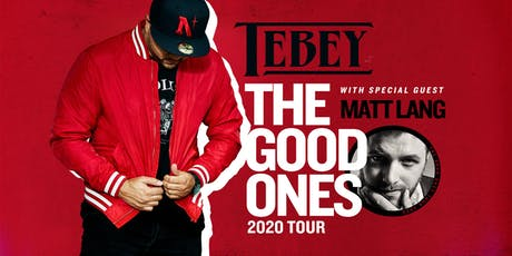 "TEBEY ""The Good One's Tour"" Mavricks - Barrie, Ontario tickets"
