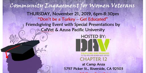 IEWVC Community Engagement for Women Vets
