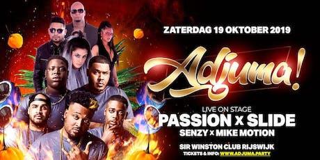 ADJUMA! Het heetste feestje van Zuid-Holland tickets
