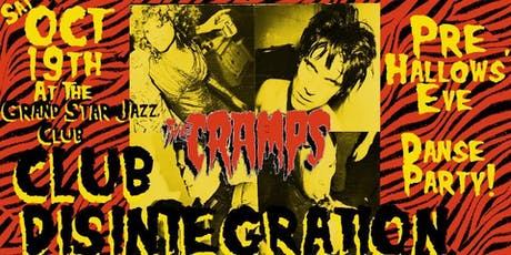 The Cramps Pre Hallows' Eve Danse Party +Cash $$ Costume Contest tickets