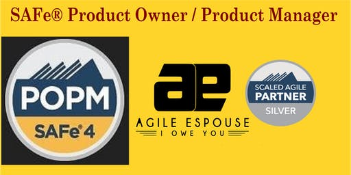SAFe® Product Owner / Product Manager (POPM) 4.6 Workshop - Chicago, IL