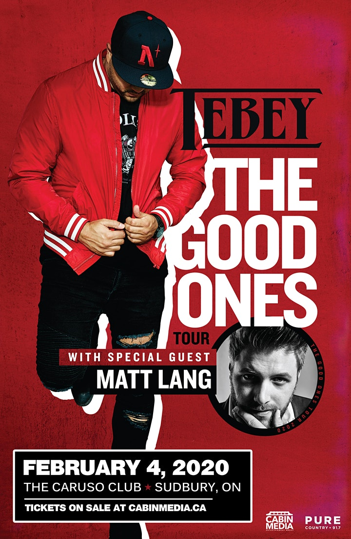 TEBEY -The Good Ones Tour image