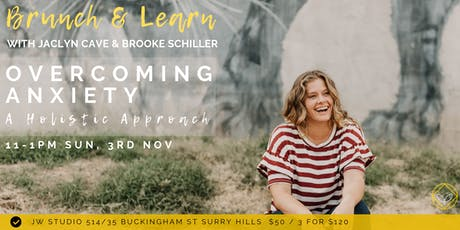 Brunch & Learn - Overcoming Anxiety: A Holistic Approach tickets