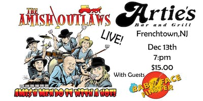 Amish Outlaws invade Arties bar and grill with guests Babyface Finster