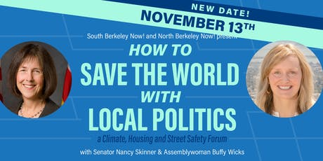 How to Save the World with Local Politics tickets
