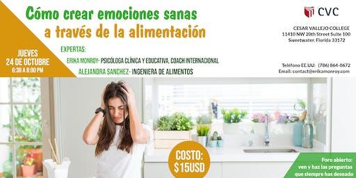 Cómo crear emociones sanas a través de la alimentación