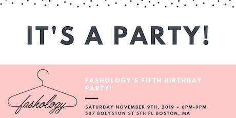 Fashology's 5th Birthday! tickets