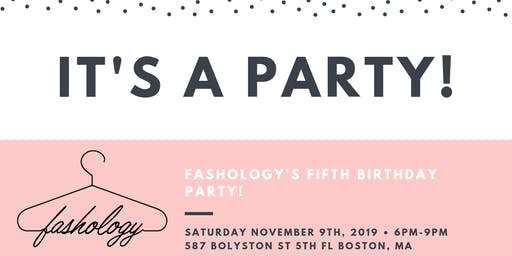 Fashology's 5th Birthday!