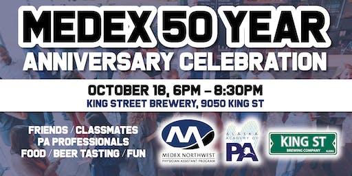 MEDEX 50 Year Anniversary Celebration