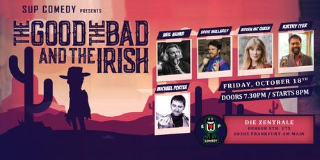The Good, The Bad & The Irish - English Comedy Show Tickets