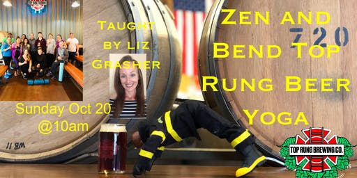 Zen and Bend Beer Yoga