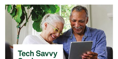 Tech Savvy Seniors  2019 Regional Road Show Introduction to iPad tablets tickets