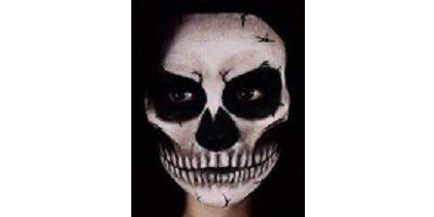 Skull Make-Up tutorial