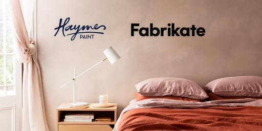 See the latest in Haymes Paint Artisan Collection and new Rendertex release