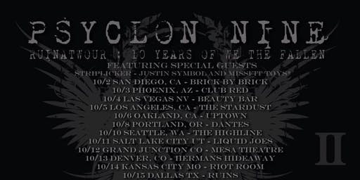 Psyclon Nine RuinaTWOur At Justice Pub 10/21/19