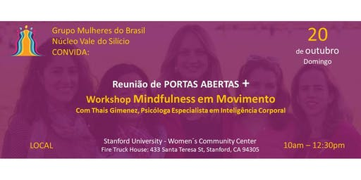 Portas Abertas + Workshop Mindfulness em Movimento