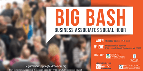 Big BASH-Business Associates Social Hour tickets