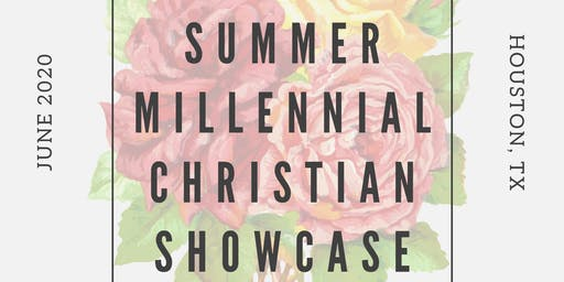 2020 Christian Showcase Auditions