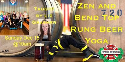 Zen and Bend Beer Yoga