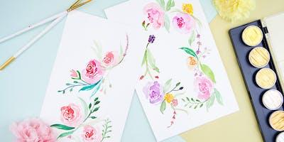Floral Watercolor Workshop