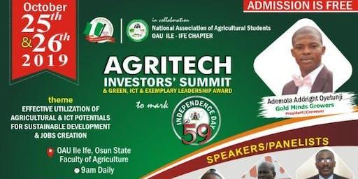 AGRITECH INVESTORS SUMMIT & AWARD