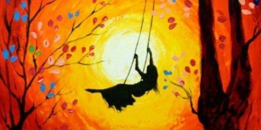 Swing silhouette