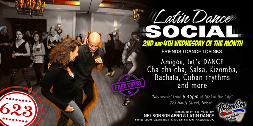 Latin Dance Social (2nd & 4th Wed of the month)