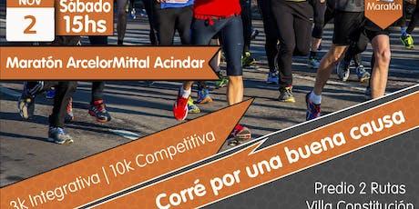 10ª Maratón ArcelorMittal Acindar entradas