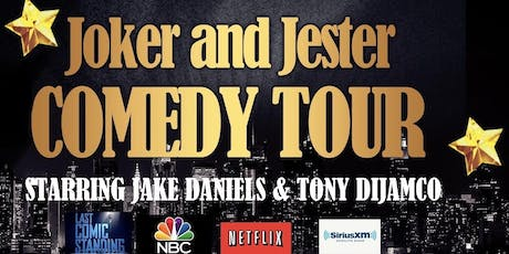 Jokers and Jester Comedy Tour & PAWS Fundraiser tickets