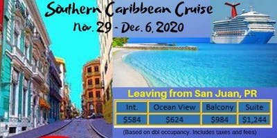 7nt- Southern Caribbean Cruise