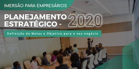 PLANEJAMENTO ESTRATÉGICO - 2020 ingressos