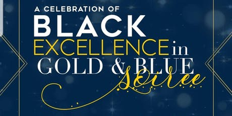 JCSU Black Excellence in  Gold and Blue Soriee tickets