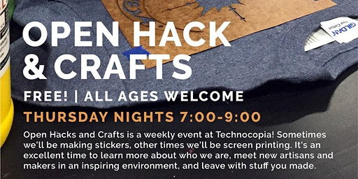 "Open Hack & Crafts ""Free Design Studio"" Series"