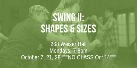 Swing II: Shapes & Sizes tickets