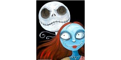 "Sip&Paint ""Jack & Sally"""