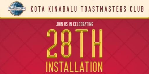 KK TOASTMASTERS INSTALLATION BANQUET - A night to celebrate growth!