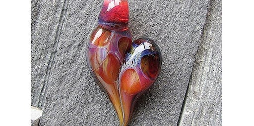 1-Hour Valentine's Heart Pendant Making Class - MA (2020-02-15 starts at 10:00 AM)