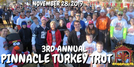 3RD ANNUAL TURKEY TROT AT PINNACLE