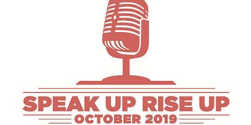 Speak Up, Rise Up