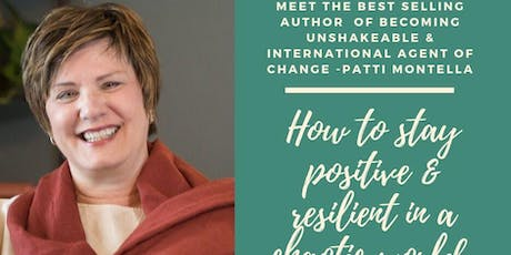How to stay positive & resilient in a chaotic world tickets