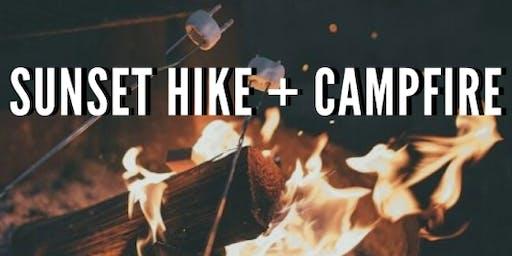 Sunset Hike + Campfire