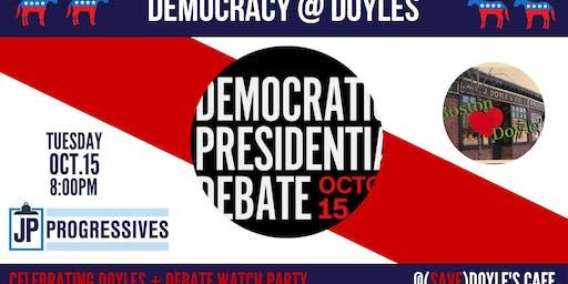 JPP October Debate Watch + We Love Doyles Party